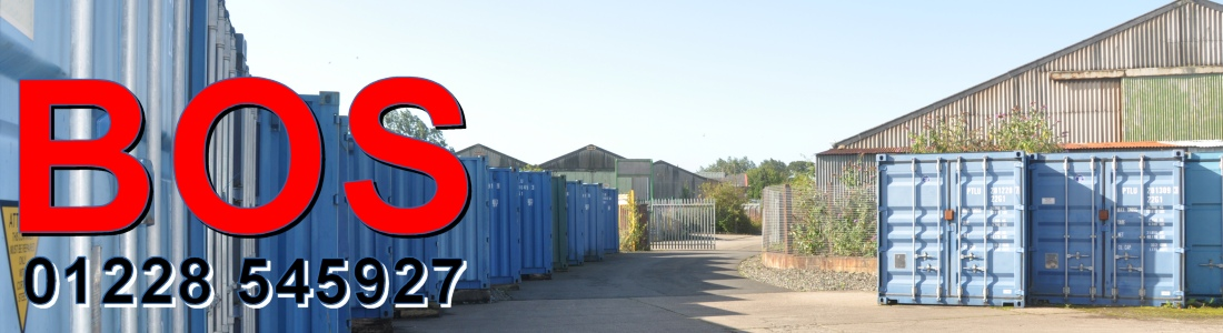 Self Storage in Carlisle and Cumbria